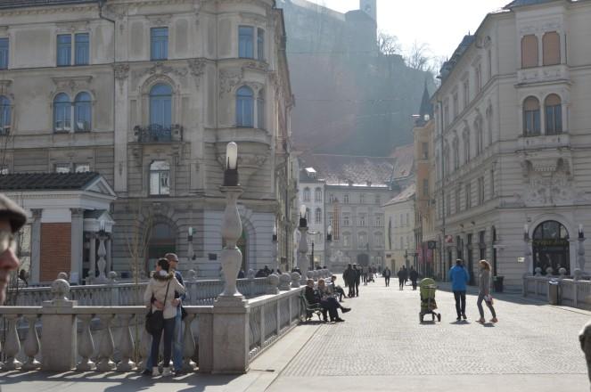 Tres puentes de Ljubljana