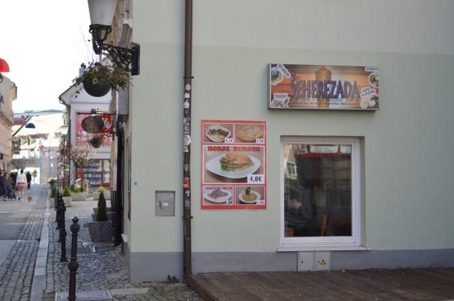 Horse Burger en Sherezada