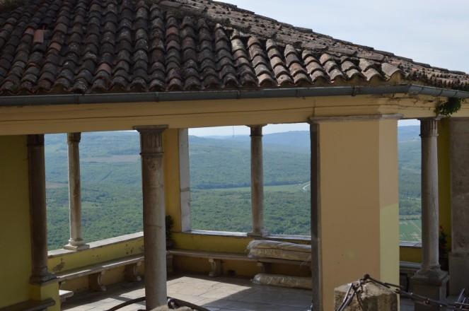 Mirador en Motovun