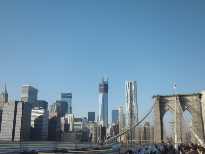Manhattan desde el puente de Brooklyn