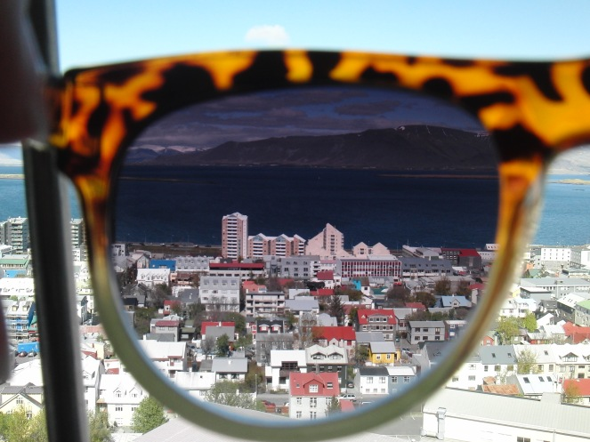Vistas de Reykjavik a través de mis gafas