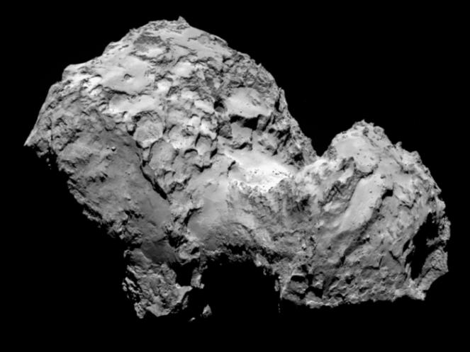 El cometa visto esta mañana... ¡que cerquita estamos!