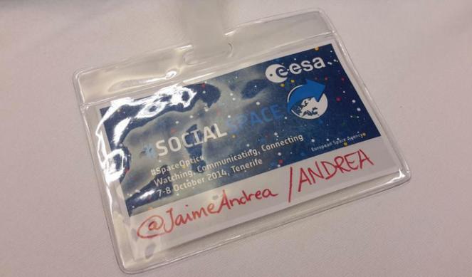 Social Space Badge